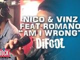 """Nico & Vinz feat Romano """" Am I Wrong"""" en live dans la Radio Libre !"""