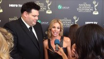 Red Carpet Chat: Brooke Burns (Daytime Emmys 2014)