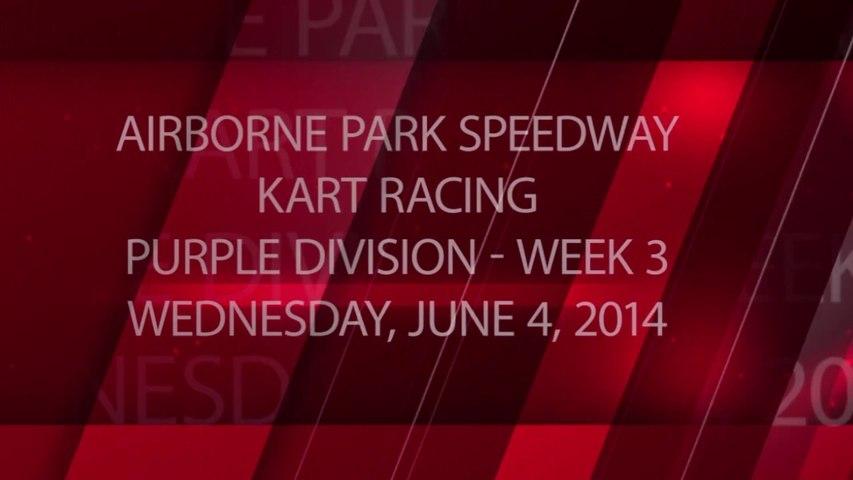 Kart Racing - Week 3 - 06-04-2014 - Purple Division