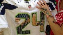Cheap Jerseys Free Shipping,Perfect Nike NFL Seattle Seahawks #24 Marshawn Lynch White Mens Jersey