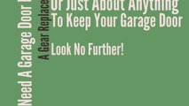 Searching For Orland Park IL Garage Door Service?