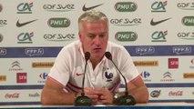 """Didier Deschamps : la France n'affrontera pas l'Allemagne en """"touriste"""""""