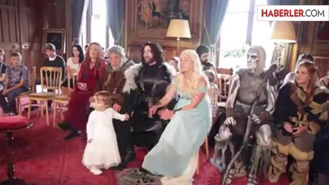 Game of Thrones Temalı Düğün Dünya Gündemine Oturdu