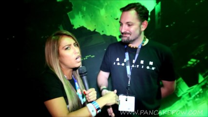 Talking with Gary Napper about Alien: Isolation at E3 2014
