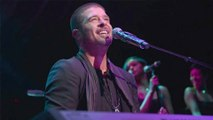 Robin Thicke Performs At His Album PAULA Launch