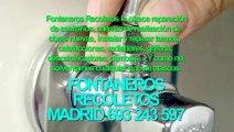 Fontaneros Recoletos BARATOS Madrid. TLF. 693-243-597