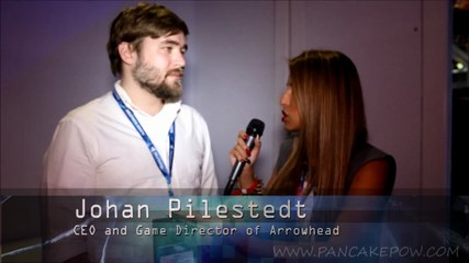 Talking with Johan Pilestedt about Helldivers at E3 2014
