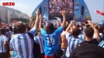 Road trip au Brésil : les supporters Argentins à Rio de Janeiro