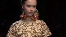 """Dolce & Gabbana"" Fashion Show Pret a Porter Woman Spring Summer 2013 Milan Fashion Week full show"