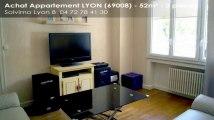 A vendre - appartement - LYON (69008) - 3 pièces - 52m²