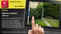 A vendre - maison - NUITS SAINT GEORGES (21700) - 4 pièces - 190m²