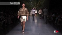"""DOLCE & GABBANA"" Menswear Spring Summer 2014 Milan by Fashion Channel"