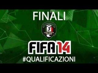 Qualificazioni Finali 3°Campionato Personal Gamer di Fifa 14