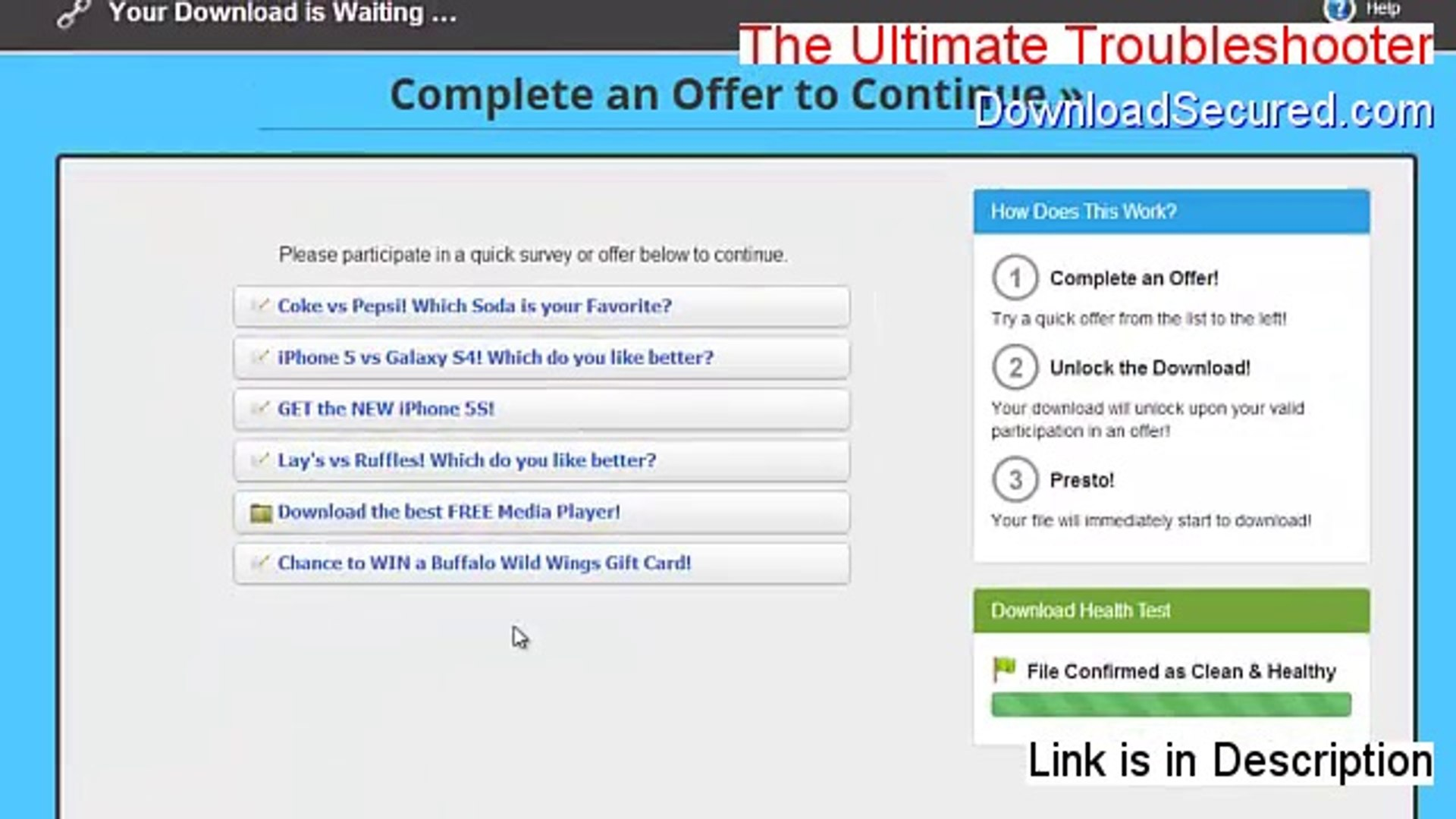 Download The Ultimate Troubleshooter Full Version