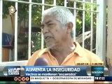 Vecinos de Puerto La Cruz deben encerrarse por inseguridad