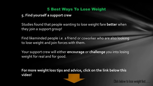 Lose Weight Fast | 5 Best Ways To Lose Weight