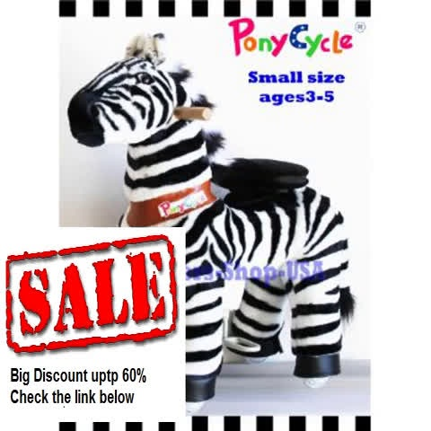 Discount Wonders Shop USA – New Ponycycle Pony Cycle Ride On Horse No Need Battery No Electric Just Walking Horse ZEBRA… Review