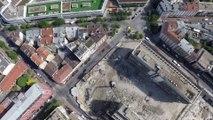 Chantier de travaux de  Démolition à Levallois par Brunel Demolition