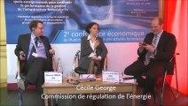 Questions à Richard Price (Office of Rail Regulation) et à Cécile George (Commission de régulation de l'énergie), à l'occasion de la deuxième conférence économique de l'ARAF, le 26 mai 2014 à Paris