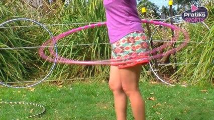 Hula Hoop - Comment faire l'ascenceur hanches / genoux
