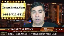 Minnesota Twins vs. New York Yankees Pick Prediction MLB Odds Preview 7-3-2014