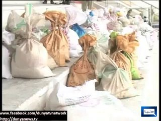 Pakistan Army relief camps for IDPs in Lahore