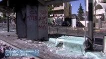 Nombreux dégâts après des émeutes à Jerusalem-Est