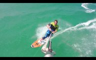Kitesurf Session with Alex Caizergues