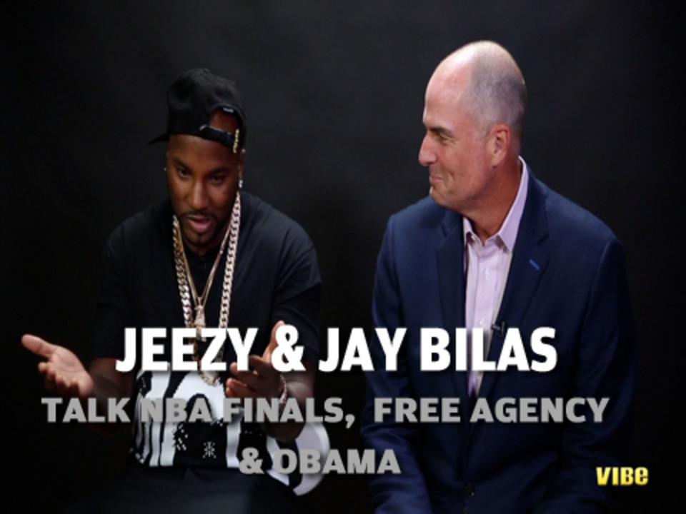 Jeezy And Jay Bilas Talk NBA Free Agency, The Finals And Lambo's
