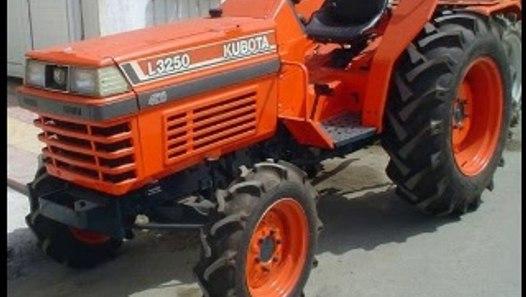 Kubota L2250 L2550 L2850 L3250 Tractor Operator Manual