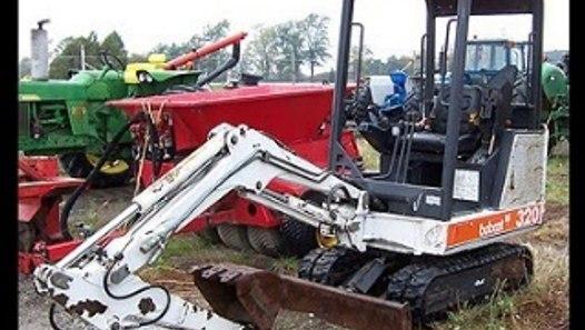 Bobcat 320 Compact Excavator Service Repair Workshop Manual DOWNLOAD (SN:  511720001