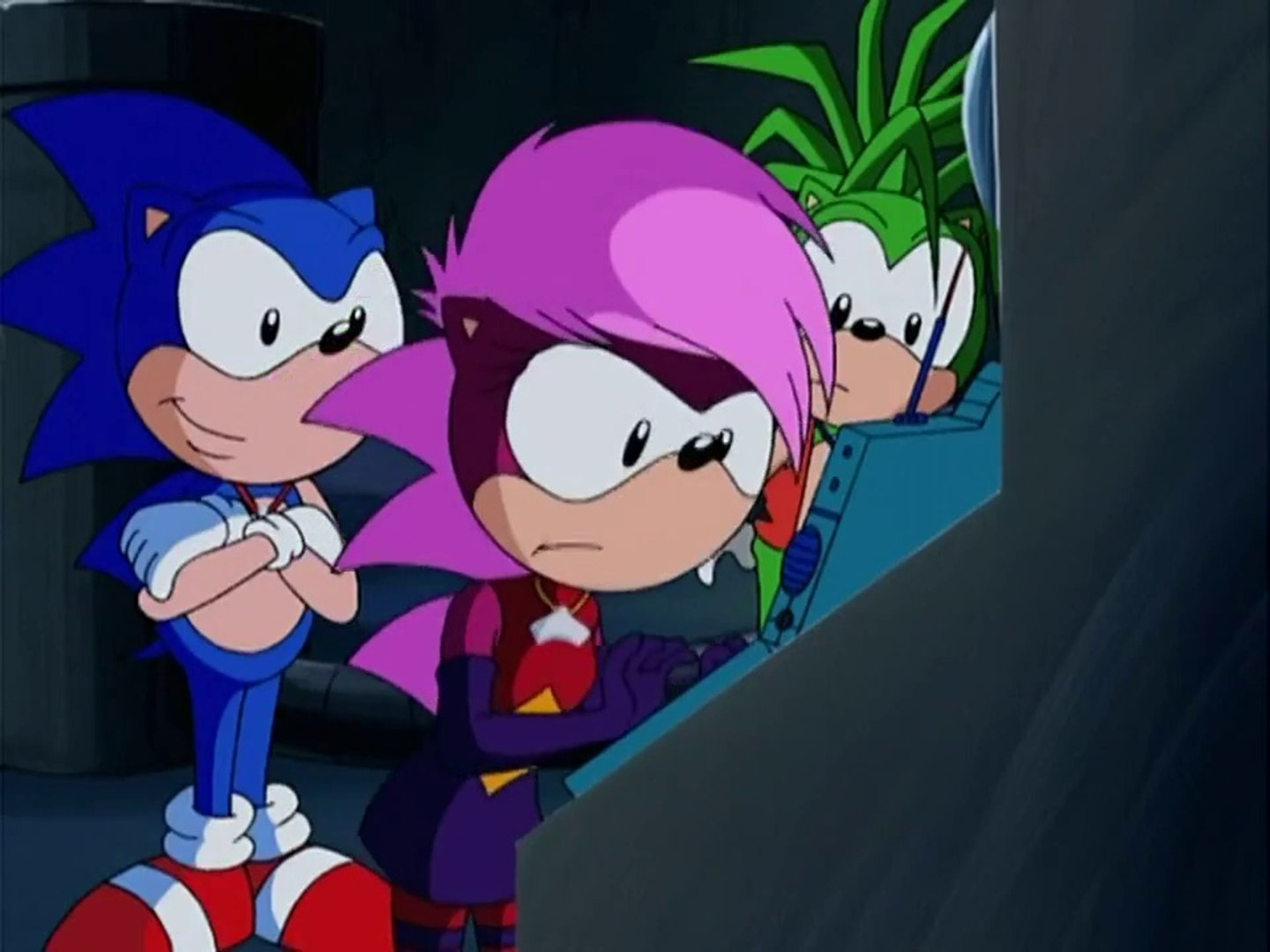 Sonic Underground Episode 23 Three Hedgehogs And A Baby Video Dailymotion