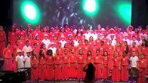 """Académie de la Réunion - rencontres académiques des chorales du 1er degré 2014 : """"Ti bal lontan""""- Chorales des écoles Charles Isautier et Champcourt (Le Tampon)"""