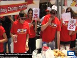 Dunya News - Mother of Four Takes Down 26 Burgers to Win Z-Burger Eating Contest