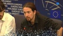 Pablo Iglesias quiere crear mecanismos públicos para controlar los medios de comunicación
