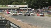 Première victoire en Rallycross de Thomas Petit à Lavaré