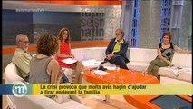 TV3 - Els Matins - Amb la crisi, la gent gran ajuda les famílies a tirar endavant