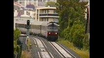 INTERCITES 4492 - BORDEAUX à CLERMONT-Fd, LE VENTADOUR, passe LA ROTONDE, 28.06.2014 - Vidéo-double.
