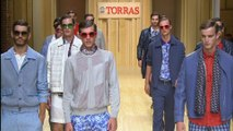 """""""TORRAS"""" LIVE Spring Summer 2015 080 Barcelona Full Show by Fashion Channel"""