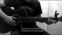 You're Always Here Chords by Ashley Tisdale - How To Play - chordsworld com