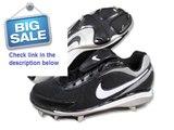 Best Rating Nike Air Men's Zoom Coop V Black/White Metal Baseball Cleat Review