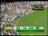 Shane Warne Bowls Career First Ball In Test Cricket 1992 Syd