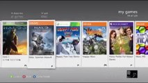 Tutorial For How To Launch Halo 3 In The Xbox 360 Dashboard On The Xbox 360
