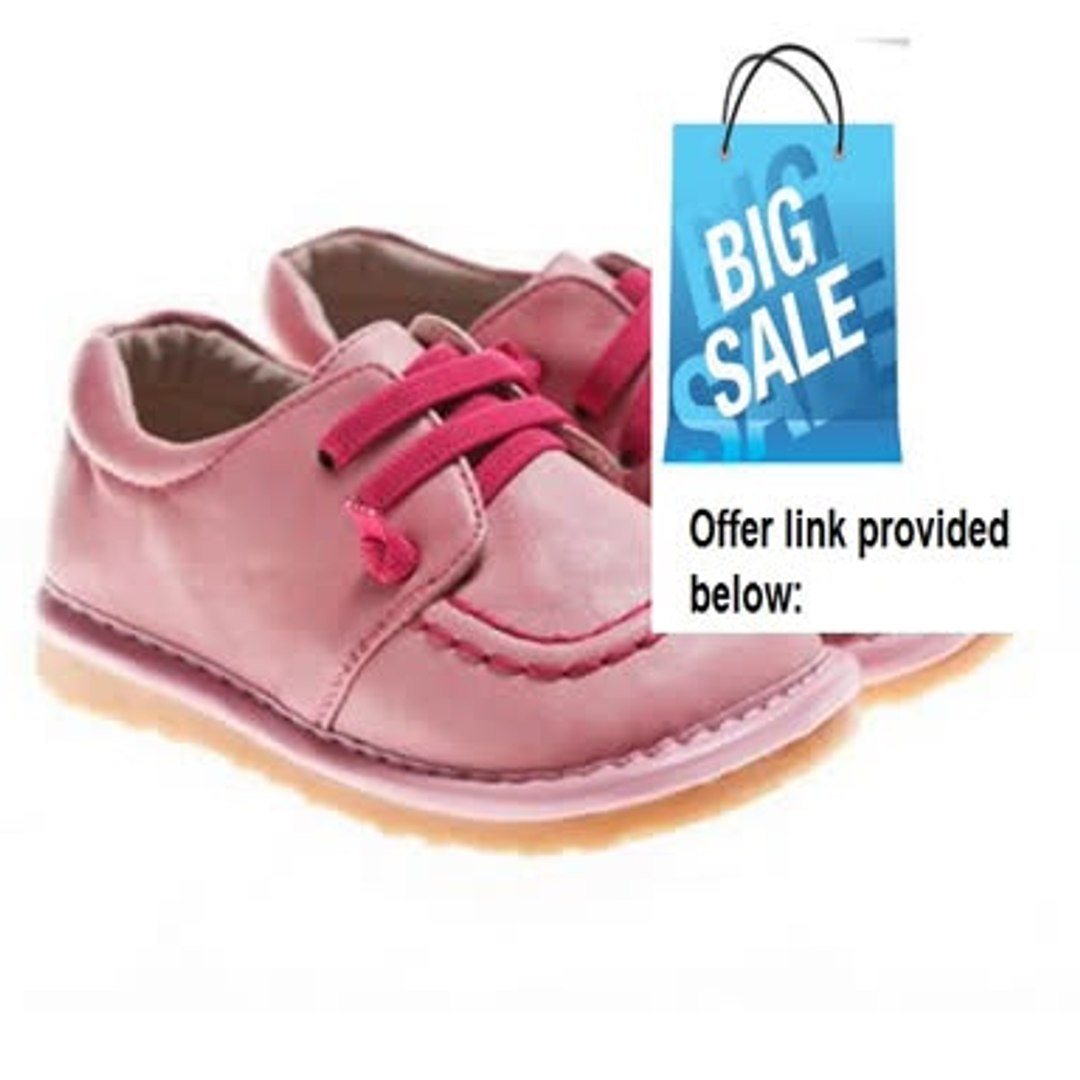 for Baby // Toddler // Kid Wide Head New Squeaky Shoes with Removable Squeaker