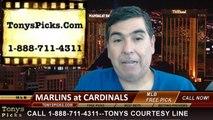 MLB Pick St Louis Cardinals vs. Miami Marlins Odds Prediction Preview 7-5-2014