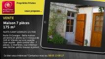 A vendre - maison - NUITS SAINT GEORGES (21700) - 7 pièces - 175m²