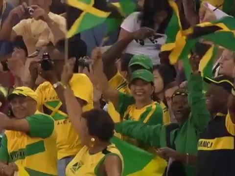 Olympic Games 2008 Beijing - Athletics 100m Mens Final - Usain Bolt Gold & World Record