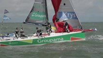 Dunkerque - 5 juillet 2014 - Premiers parcours côtiers