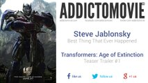 Transformers: Age of Extinction - Teaser Trailer #1 Music (Steve Jablonsky - Best Thing That Ever Happened)