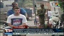 Persisten en Colombia grupos armados que exaccionan a población rural